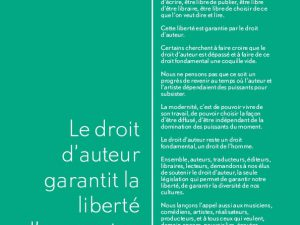 Campagne Copyright for Freedom