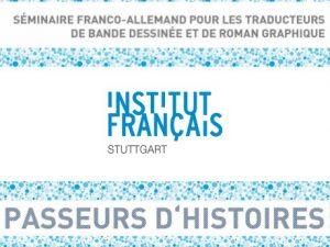 Séminaire franco-allemand pour les traducteurs de bande dessinée et de roman graphique