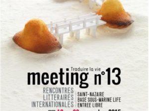 Meeting 2015 : Traduire la vie