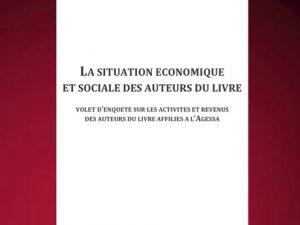 La situation économique des auteurs du livre affiliés à l'Agessa