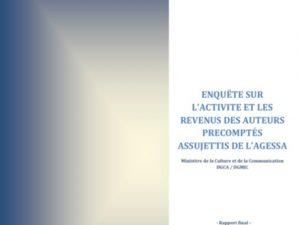 Étude sur la situation économique et sociale des auteurs du livre : résultats