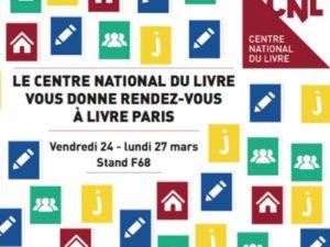 Livre Paris : rencontres du CNL