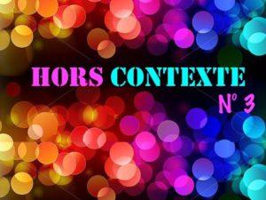 3e rendez-vous Hors Contexte Paris