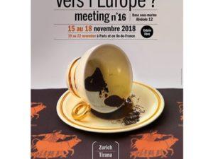 Meeting : «Vers l'Europe ?» – Saint-Nazaire/Paris