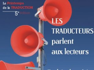Printemps de la traduction – 21-25 mai
