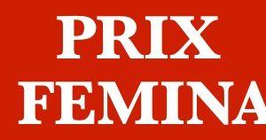 Prix Femina étranger 2020