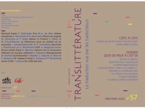 TransLittérature n°57