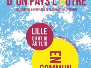 D'un Pays l'Autre –  7-11 octobre à Lille