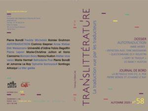 TransLittérature n°58